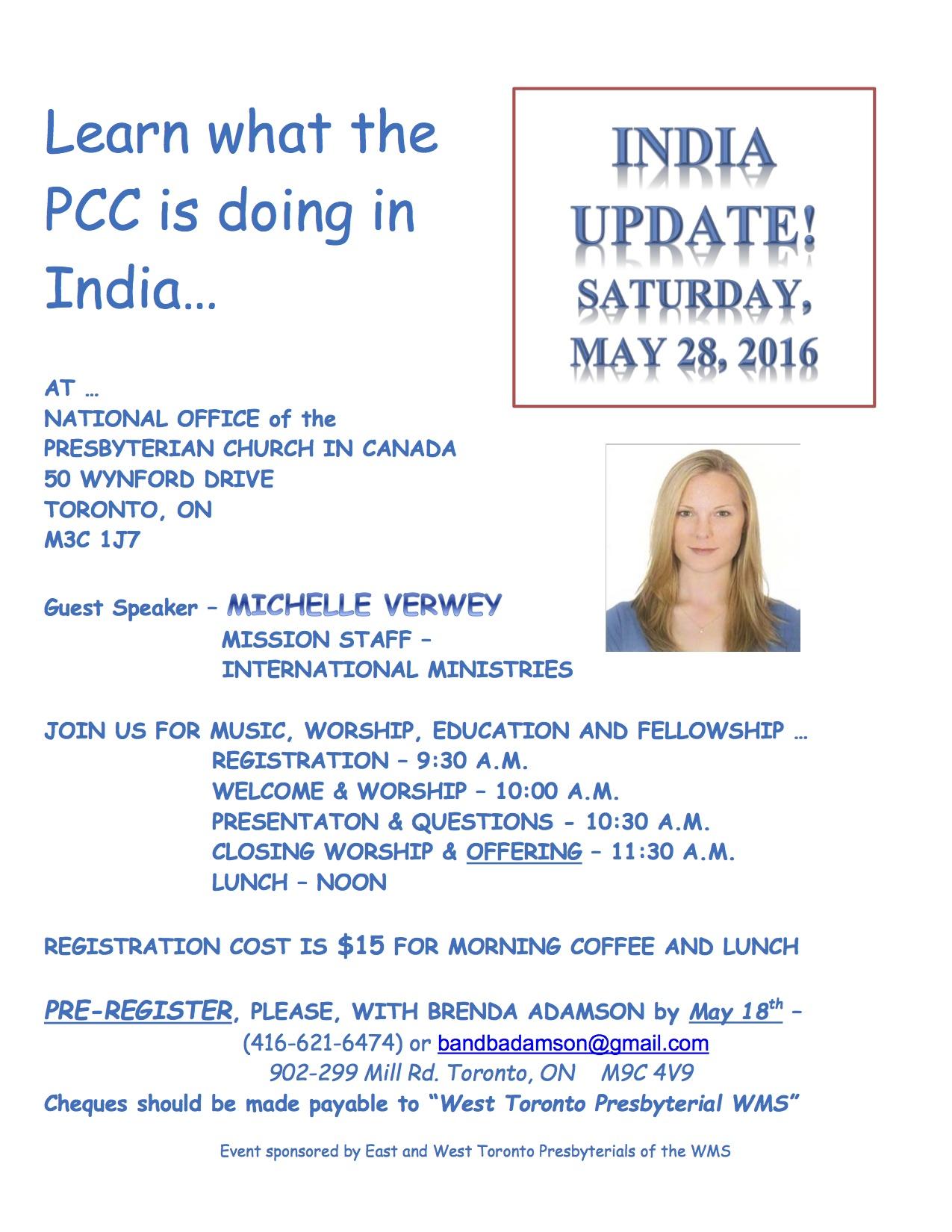 India Update - flyer - 2