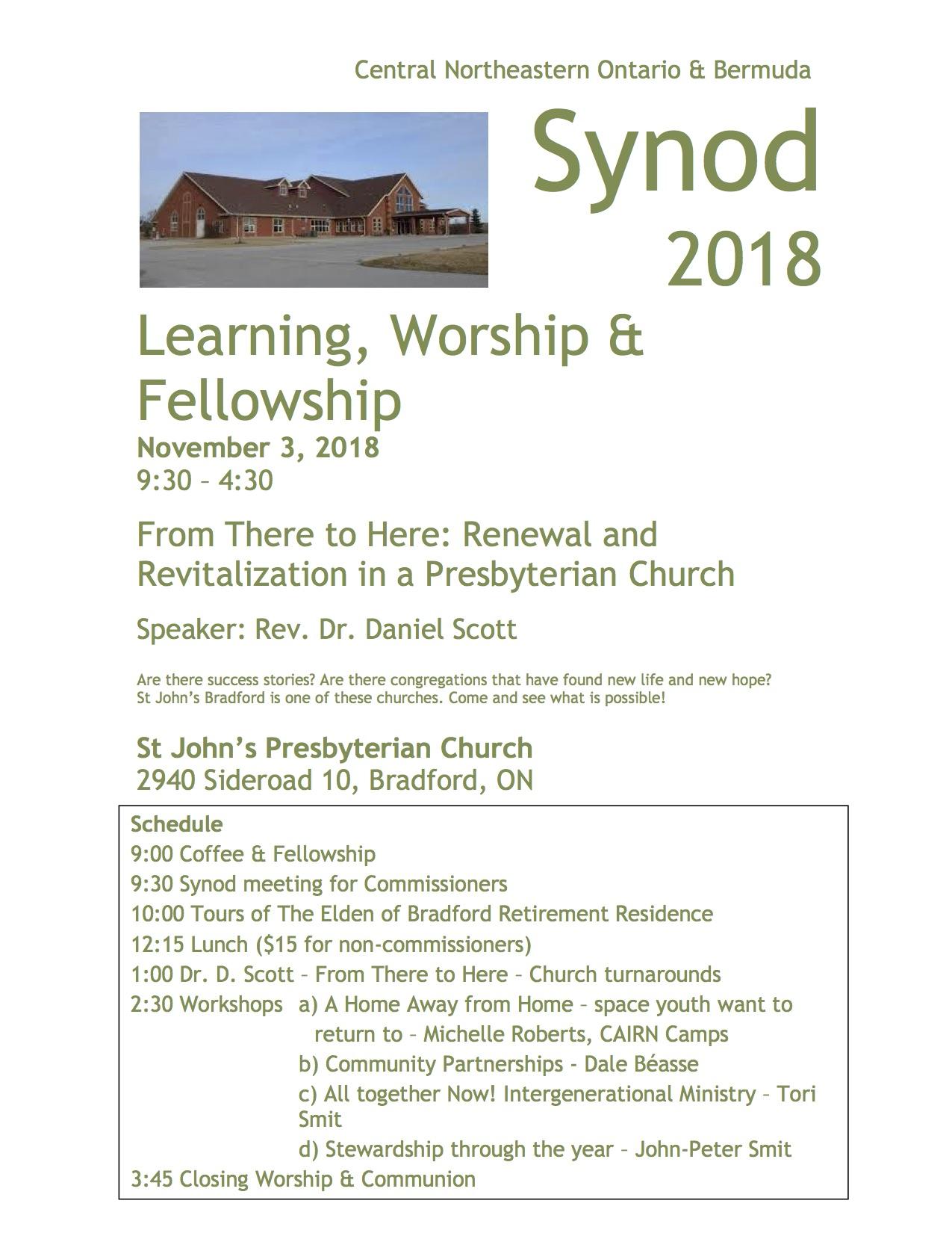 Congregational Development Archive – Synod of CNOB